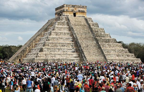 YUCATÁN. El segundo lugar de visitas lo ocupa Chichén Itzá. Foto: Especial