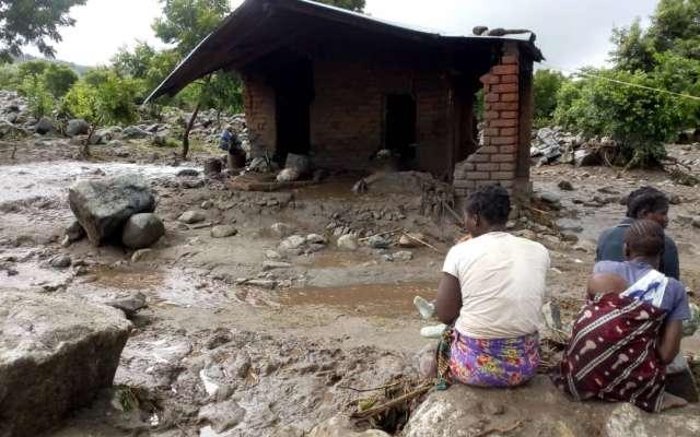 El ciclón Idai comenzó a inicios del mes de marzo. @MalawiGovt