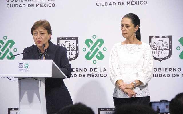Sheinbaum y Villalobos detallaron el esquema de revisión a proyectos inmobiliarios. FOTO: ESPECIAL