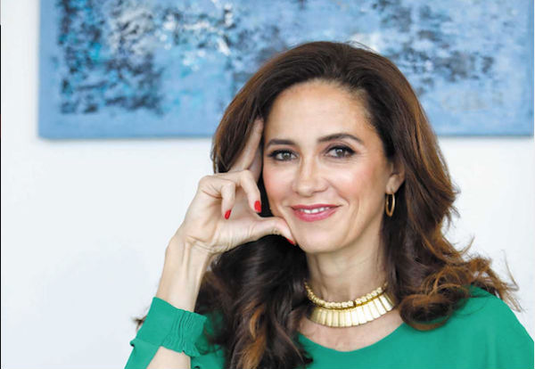 Claudia Romo Edelman, consejera especial del grupo We Are All Humans.FOTO: NAYELI CRUZ