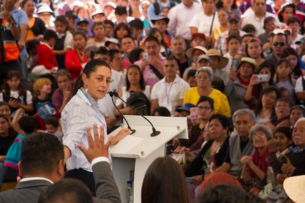 Claudia Sheinbaum Pardo, Jefa de Gobierno, inauguró el Punto de Innovación, Libertad, Arte, Educación y Saberes (PILARES), en Santiago Tuyehualco en la alcaldía Xochimilco. Foto: Cuartoscuro