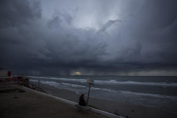 Un nuevo Frente Frío se aproxima al norte de la Península de Baja California. Foto: Cuartoscuro