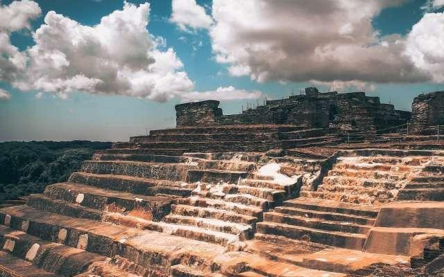 Comalcalco fue una de las principales ciudades comerciales de la cultura maya. Foto: @OCV_Tabasco