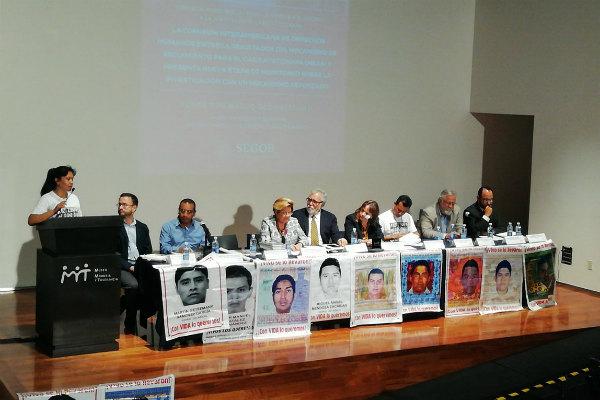 """""""Se debe investigar con mayor profundidad a los agentes castrenses que estuvieron involucrados en la trágica y violenta noche de Iguala"""", dijo"""