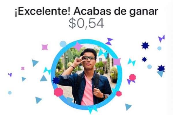 Como parte de la celebración por el Natalicio de Benito Juárez, este jueves la bolsa fue de 50 mil dólares americanos. Foto: Especial