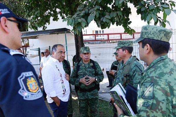 En el operativo que se implementará en los alrededores del hotel Princess participará el Ejército Mexicano, la Armada de México y la Policía Federal y Estatal. Foto: Especial