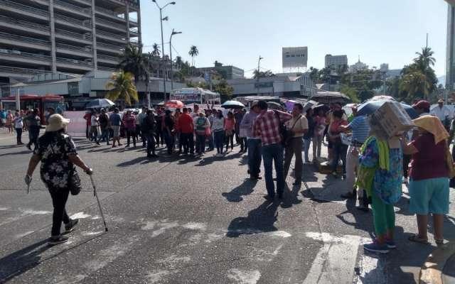 Protesta de la CETEG