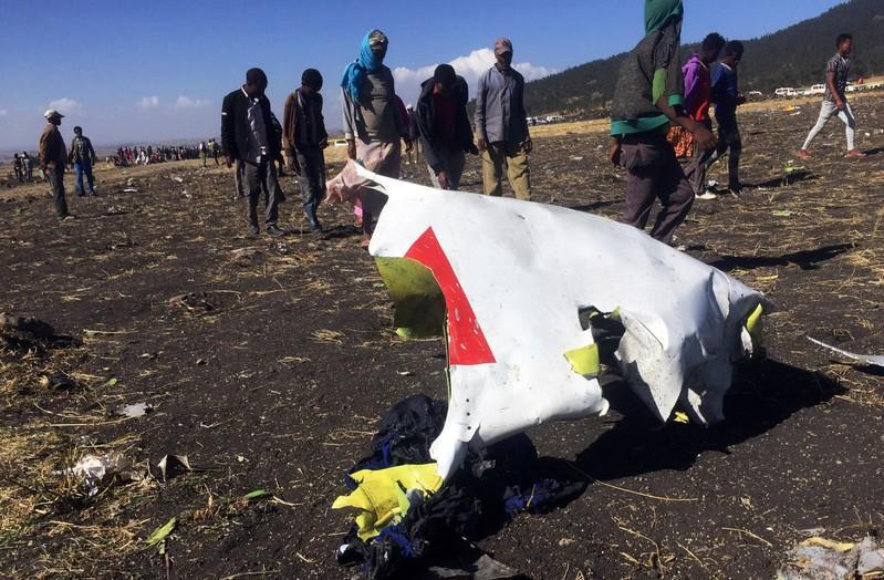 El avión  de Ethiopian Airlines se estrelló en la región de Bishoftu, a unos 60 km al sur de Adís Abeba. Foto: Reuters