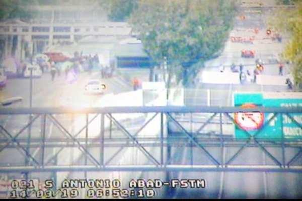 Las autoridades solicitaron a los automovilistas tomar precauciones. Foto: Ovial