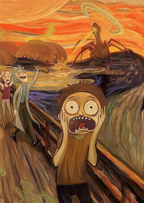 Las parodias de El Grito que no es grito de Edvard Munch