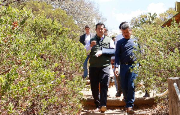 """""""Guanajuato Sí Cumple, hoy más que nunca trabajamos transversalmente en el cuidado de los recursos naturales de nuestra Casa Común que es Guanajuato; señaló el Gobernador"""