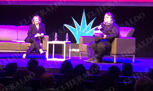Guillermo del Toro se presentó en el Festival Internacional de Cine de Guadalajara. Foto: Patricia Villanueva