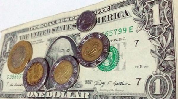 La moneda mexicana hiló tres sesiones de ganancias, con una apreciación de 0.48 por ciento. FOTO: ESPECIAL