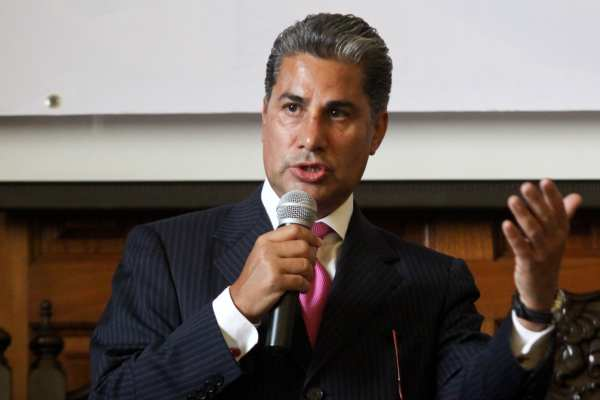 Díaz Durán dijo que lo quieren desaforar para acabar con la tolerancia política. Foto:Archivo | Cuartoscuro