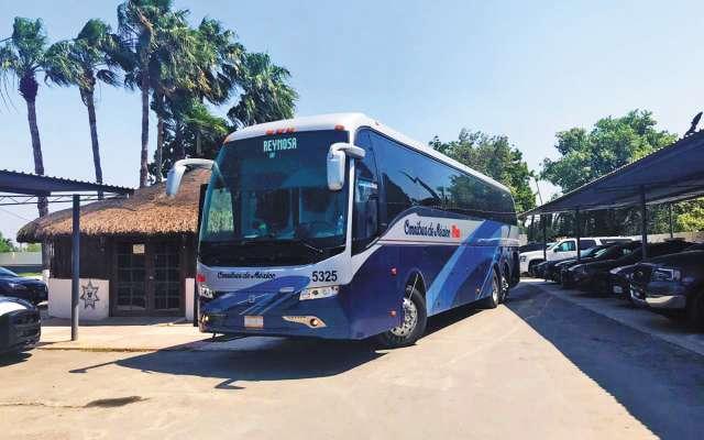 En un autobús procedente de la CDMX, fueron localizados, en Reynosa, 25 migrantes indocumentados. FOTO: ESPECIAL