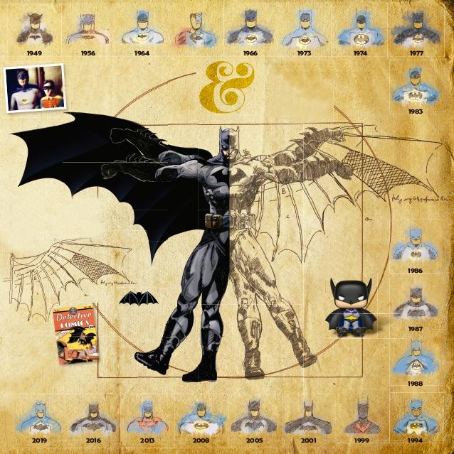 Los dibujos de Kane lograron que el guionista Bill Finger comenzará a crear la historia del héroe más famoso de DC Cómic.