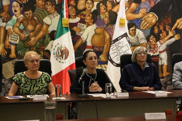 Alistan un seminario sobre el acceso a la justicia de las mujeres víctimas de violencia en la CDMX. Foto: @InternacCDMX