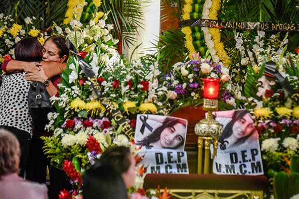 Valeria Miriam Cruz Medel, hija de la diputada federal Carmen Medel, fue asesinada en un gimnasio de Ciudad Mendoza al norte del estado de Veracruz. FOTO: CUARTOSCURO