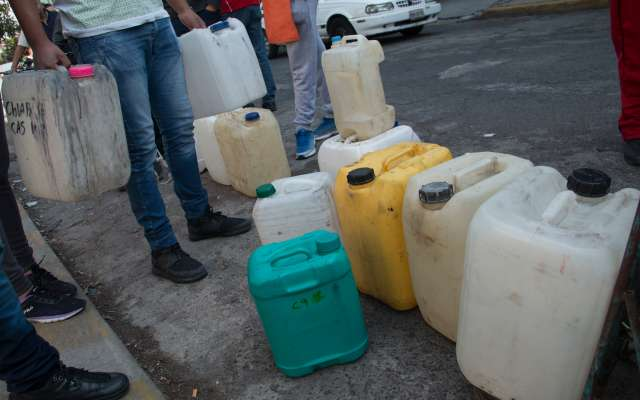A inicios de año, hubo problemas con elsuministro de combustible en varias regiones de México. Foto: Cuartoscuro
