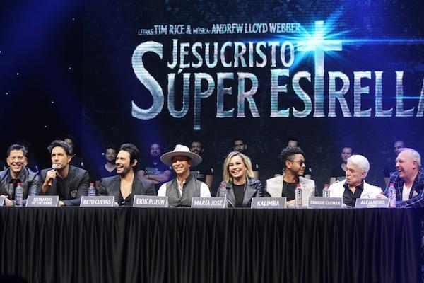 Elenco de Jesucristo Súper Estrella. Foto: yahirmusic