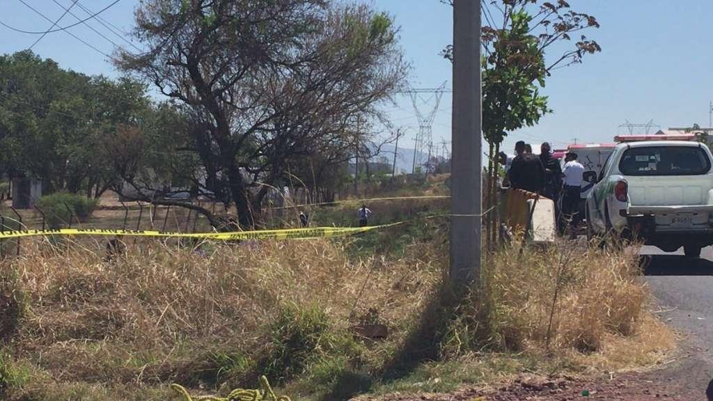El hallazgo fue en el municipio de Ixtlahuacán de los Membrillos, en los límites con El Salto. Foto: @escamillajluis