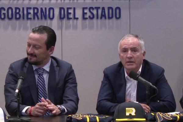 José Eustacio Álvarez Flores, presidente del Consejo Directivo de los Rieleros de Aguascalientes busca la candidatura de Morena para la presidencia municipal de la capital del estado FOTO: Especial