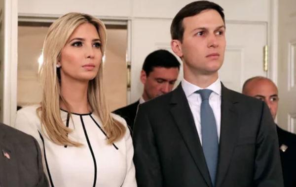 Ivanka Trump y Kushner han infringido la Ley de Registros Presidenciales y Política de la Casa Blanca.FOTO: ESPECIAL