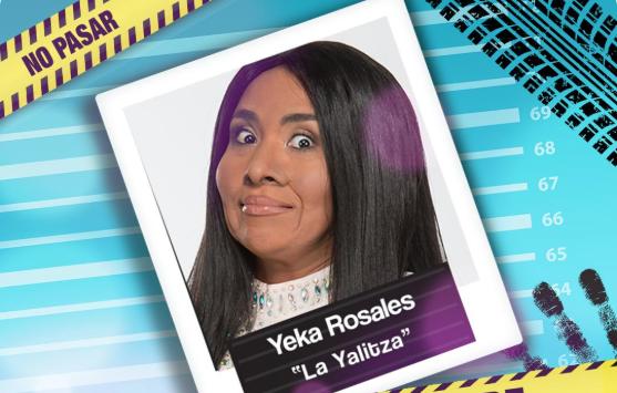 Yessica Rosales es la actriz que parodia a la nominada al Oscar por la película Roma Foto: Twiter La Parodia Oficial