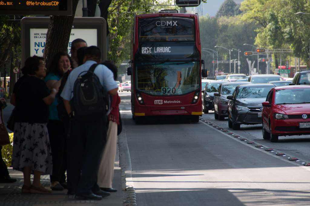 El gobierno capitalino contempla de creación de dos líneas más de Metrobús. Foto:  Cuartoscuro