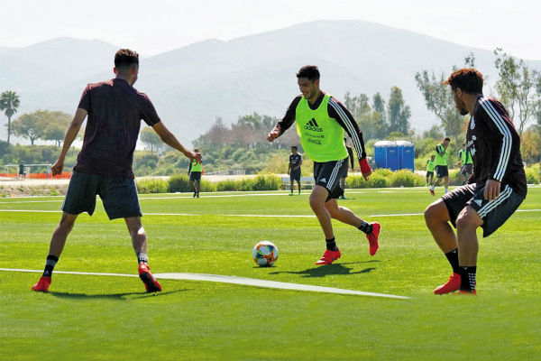 El Tri entrenó ayer en Elite Athlete Training Center en Chula Vista, California