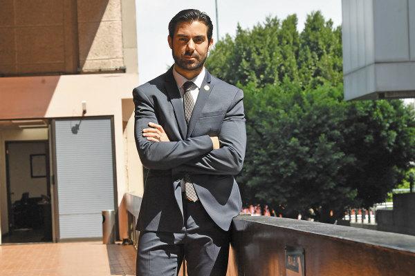 D'Alessio denunció irregularidades y acompaña a atletas