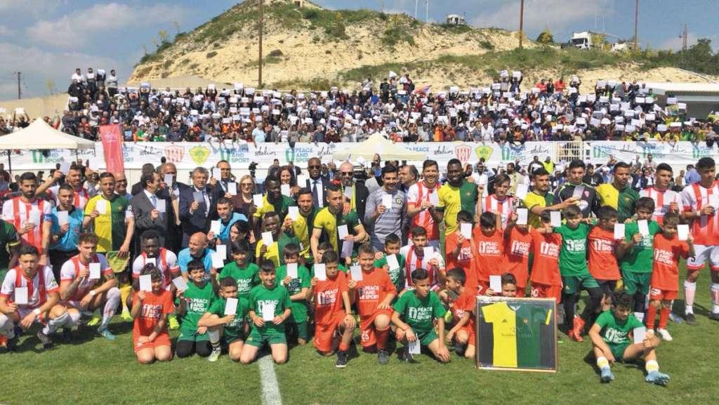 REFERENTE. Didier Drogba es uno de los principales embajadores de Peace and Sports. Foto: Especial