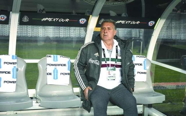 OPINA. Gerardo Martino mostró confianza en el nivel de la Liga MX. Foto: AFP