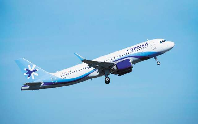 Posee Interjet 14 alianzas con firmas extranjeras Foto: Archivo/ Especial