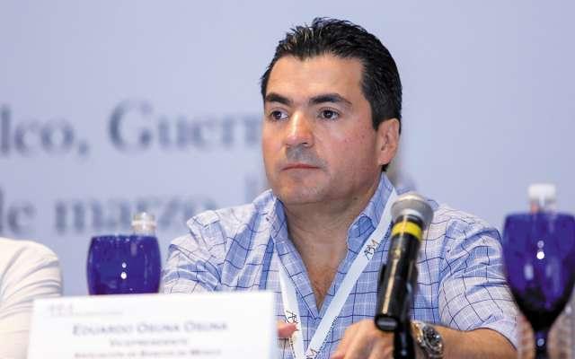 Eduardo Osuna, de la ABM, en la inauguración.FOTO: ESPECIAL
