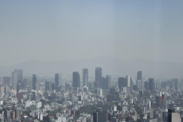 La calidad del aire en la capital del país es regular. Foto: Cuartoscuro