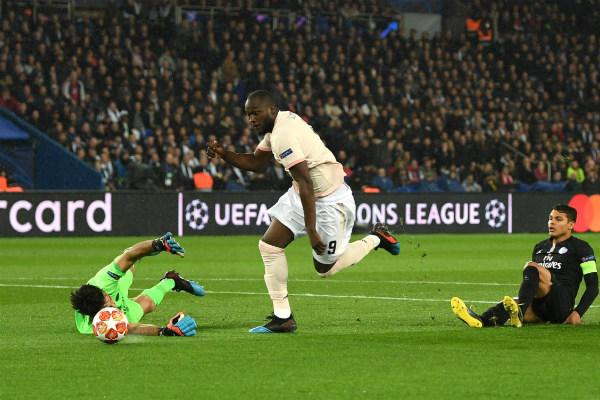 Lukaku fue la estrella de la noche