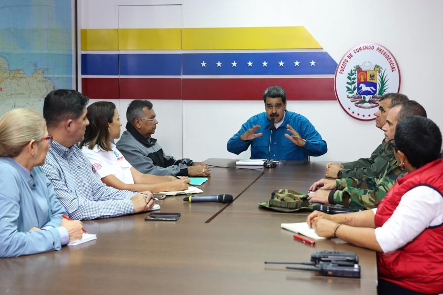 Según Maduro, los constantes sabotajes se han visto agravados por las altas temperaturas que facilitan los