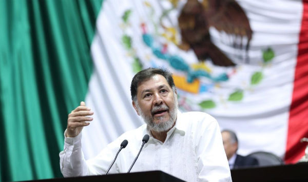 Gerardo Fernández Noroña aseguró que bajo ninguna circunstancia validarán la propuesta. FOTO: @DiputadosPTLXIV