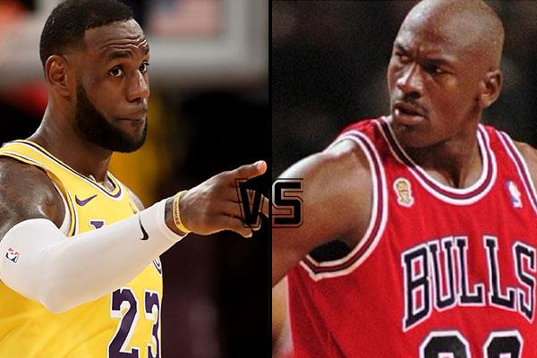 Para LeBron, Michael Jordan siempre fue una inspiración. Foto: Especial