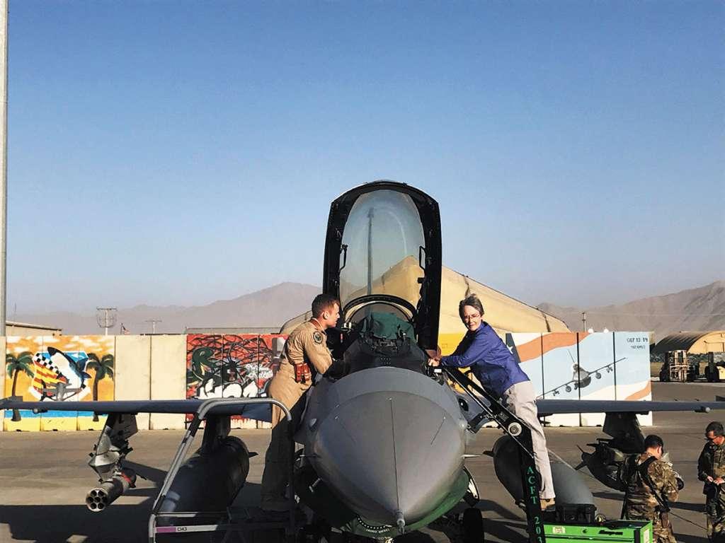 La secretaria de la Fuerza Aérea de EU, Heather Wilson, habló de la necesidad de fondos.FOTO: REUTERS