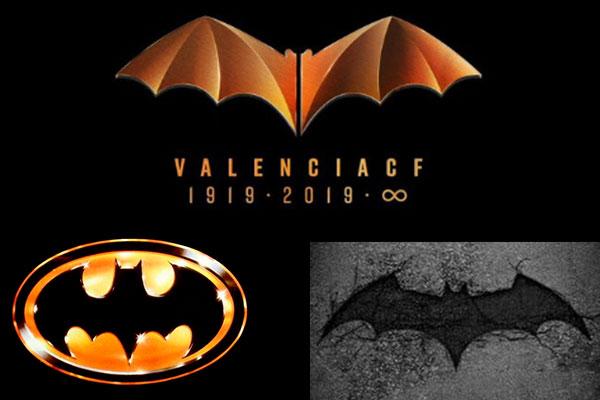 En 2014 DC Comics tuvo su primer reclamo al Valencia por el parecido de los logotipos. Foto: Especial