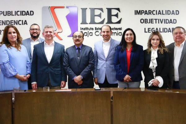 Para los panistas, dijo, la contienda electoral por Baja California va más allá del propio estado; es una contienda nacional, y así se lo hemos expresado FOTO: Especial