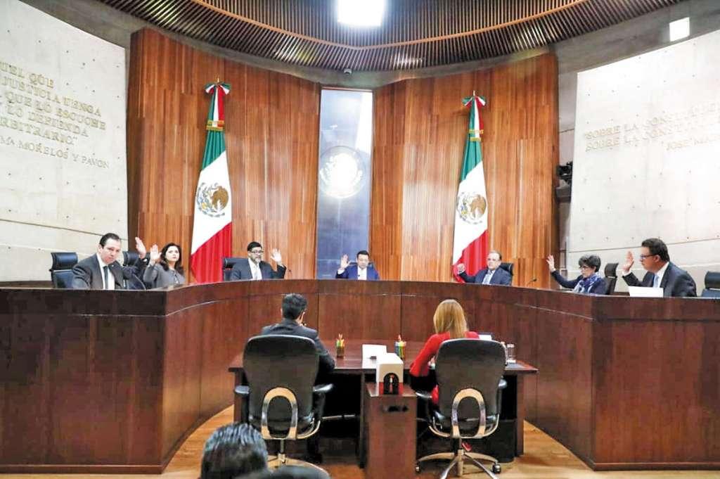 Magistrados electorales resolvieron la extinción del PES.FOTO:CUARTOSCURO