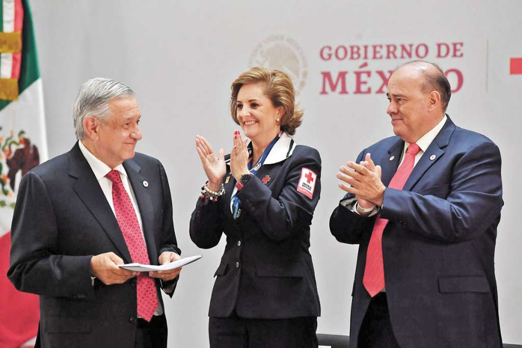 El presidente López Obrador pidió a la ciudadanía apoyar esta noble causa.FOTO: PABLO SALAZAR SOLÍS