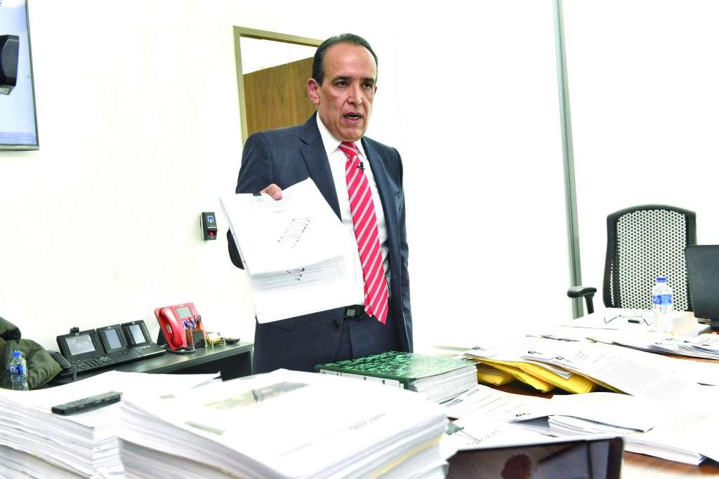 Muñoz Vázquez afirmó que tiene pruebas para comprobar su inocencia. FOTO: EDGAR LÓPEZ