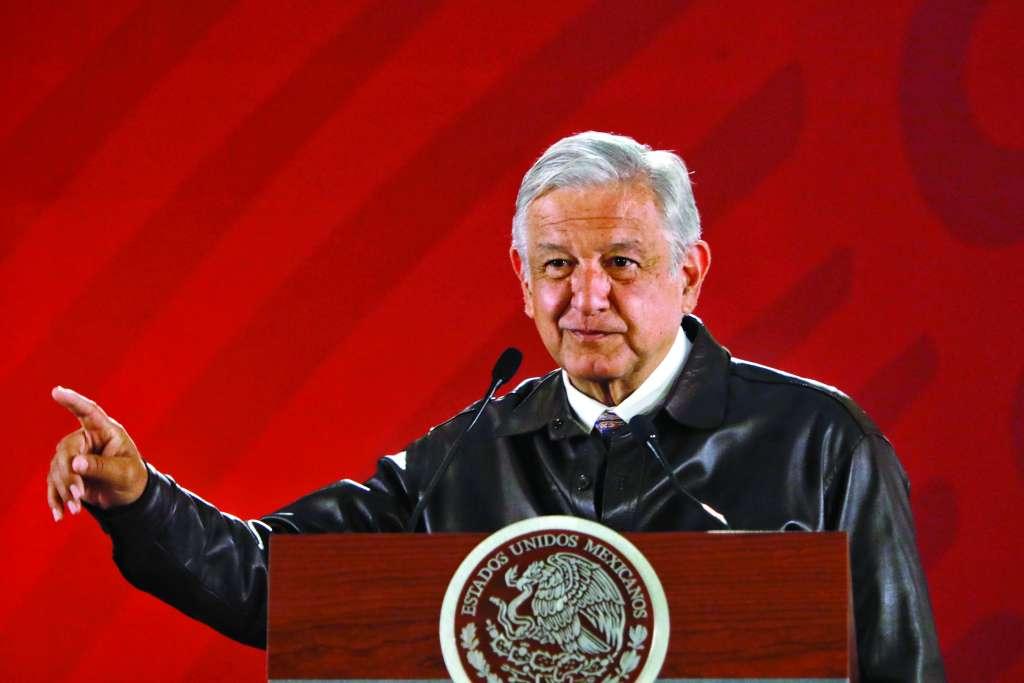 Cada mañana, el Presidente ofrece una conferencia de prensa donde usa sus frases.FOTO:NAYELI CRUZ
