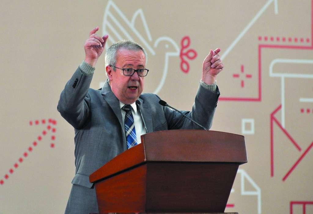 El titular de Hacienda señaló que el PND hará un cambio radical en la política pública.FOTO: NOTIMEX