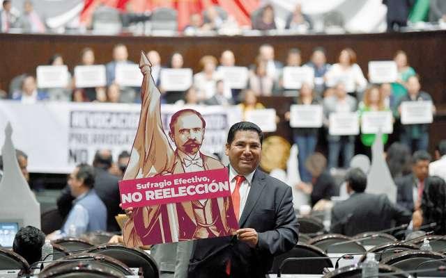 Fueron 328 diputados quienes votaron a favor. FOTO:PABLO SALAZAR SOLÍS
