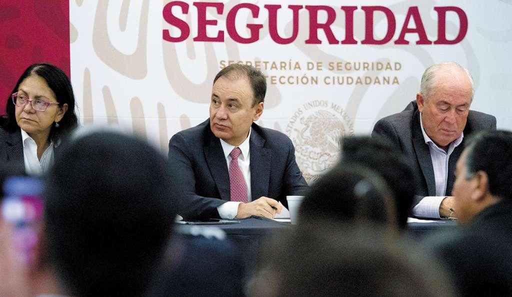 Durazo Montaño reconoció que persiste el vínculo entre criminales y autoridades. FOTO: CUARTOSCURO
